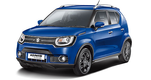Suzuki 2016 Ignis On the way: Suzuki's Baleno hatch (left) is set for a quarter three, 2016 launch, while the Ignis (below) is still yet to be officially confirmed for Australia.