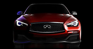 Detroit 2014 Eau really: Infiniti will show off its first performance car in the shape of the Q50-based Eau Rouge concept.