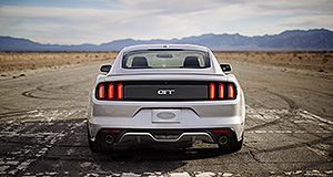 Ford 2015 Mustang Looking forward: The day may come when we see an EV or even a - gasp - diesel Mustang, says Ford.