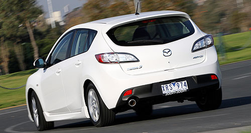 Mazda  Little Big Man: The largest piece of the ambitious Mazda sales plan will be the replacement of the vital Mazda3 in 2014.