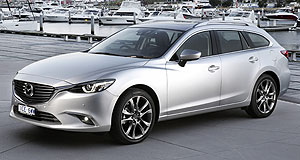 Mazda Mazda6 Safe bet: The Mazda6 sedan and wagon range now has more driver assistance and safety systems as standard, with mid-range GT variants benefiting from the biggest boost.