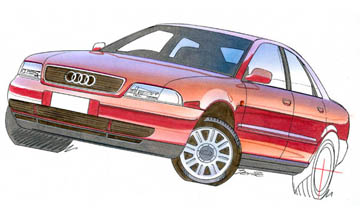 1999 Audi A4 1.8 sedan Car Review