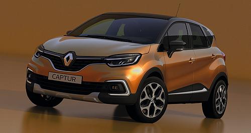 Renault suv range