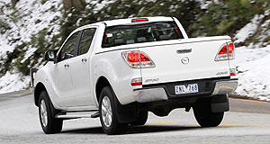 Mazda 2016 BT-50 Divisive: The current Mazda BT-50 is selling to target, but has been criticised for its car-like design, according to the company's design boss.