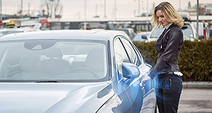 Volvo  Phone home: Forgot the key? No problems with Volvo's phone app digital key that will go on trial on share cars in Sweden in the second half of this year.