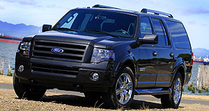 Ford  Dark times: US buyers are turning their backs on SUVs like the Expedition.