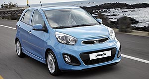 Kia  Picanto: Kia will offer a 998cc three-cylinder petrol and dual-fuel petrol-LPG engine in its next-gen city car.