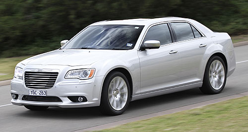 Chrysler 300 Point of difference: Chrysler Australia says its new 300 will offer something unique, and will appeal to buyers not convinced by traditional offerings.