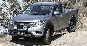 Mazda BT-50 Decisions, decisions: Mazda executive Masahiro Moro has poured cold water on suggestions that the next BT-50 will be based on the Toyota HiLux.