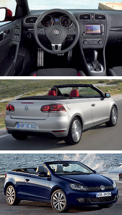 Volkswagen2011 Golf Cabriolet center image