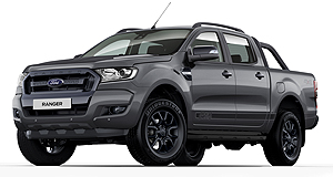Ford Ranger FX4Winter is coming: The Ford Ranger FX4 gets new 18-inch alloy wheels in Stark Grey colour.