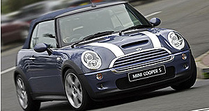 Mini Convertible Premium: The soft-top adds $6400 to the price of the Mini Cooper hatch.