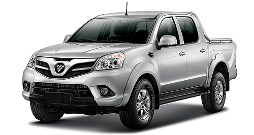 Foton 2012 Tunland Chinese contender: FAA Automotive Australia has acquired the rights to import a range of Foton vehicles, including the Tunland ute.
