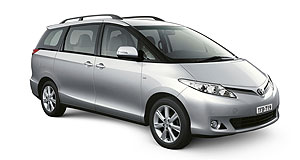 Toyota Tarago rangeMoving up: The Toyota Tarago gets more equipment - and a price rise.