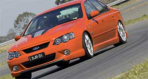 Ford Falcon Herrod-built: HP320 is the product of a joint-venture between DJR and Herrod Motorsport.