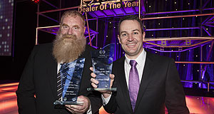 General News Sales Winners: Hino dealer of the year awards, Steve Elliott (left) and Craig Andersson.
