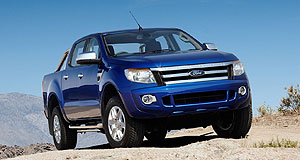 Ford 2011 Ranger Workhorse: Ford Ranger designers were inspired by power tools and protective sportswear.