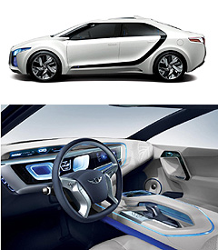 Hyundai2014 Genesis sedan center image