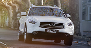 Infiniti FX 50Coming soon: Infiniti's FX luxury SUV pricing will start at $83,900 for the 3.7-litre V6 petrol model.