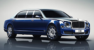 Bentley  Long shot: Bentley's Mulliner bespoke service was even able to manufacture a six-seater Mulsanne by stretching it a metre.