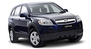 Holden Captiva 2WD SXBargain: Front-drive Captiva diesel lands from under $34K, returns 7.2L/100km.