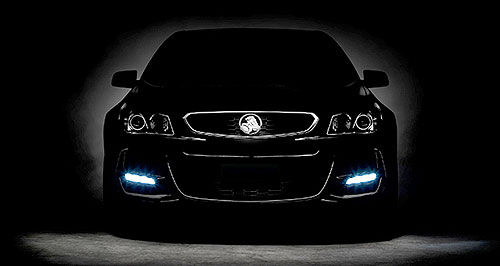 Holden 2015 Commodore Holden on: The VF Series II Commodore will be revealed within days, but Holden has released a teaser image to keep fans excited.