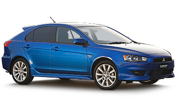 2008 Mitsubishi Lancer Sportback 5-dr hatch range Car Review