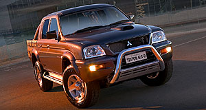Mitsubishi Triton GLX-RUp-spec: The GLX-R comes with uprated exterior and interior, along with sharp pricing.