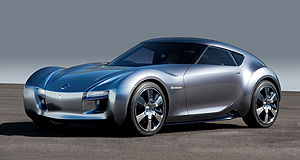 Nissan 2013 Esflow Go with the flow: two year old concept could surface as the next Silvia.
