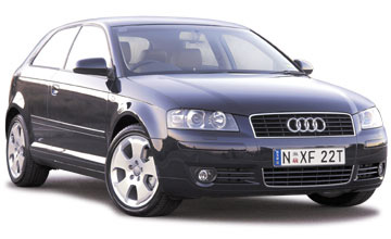 2004 Audi A3 3-dr range Car Review
