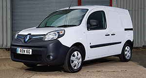 renault 2014 kangoo z e renault charges up for kangoo ev trial goauto. Black Bedroom Furniture Sets. Home Design Ideas