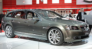 Holden Commodore SportwagonIt's a wagon, sport: VE Sportwagon breaks official cover in Sydney.