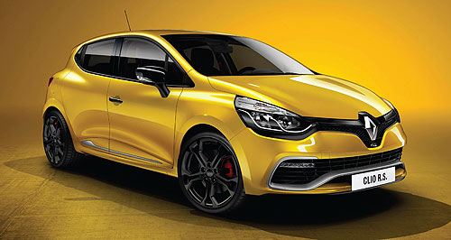 Renault 2013 Clio RS 200 TurboBig shift: The daring new RS Clio hot hatch will get turbo power and an automatic transmission for the first time when it hits the market in 2013.