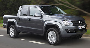 Volkswagen 2013 Amarok New variant: A Volkswagen Amarok-based SUV derivative is not entirely out of the question, and the company's Australian arm would keenly look into bringing it here if it were to enter production.
