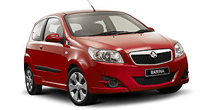 Ford  Light fighter: Holden's base Barina price rose to $14,790 in November.