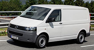 Volkswagen 2010 Transporter Loaded: The VW Transporter gets upgraded common-rail diesel engines and optional dual-clutch transmission in the revised T5 range.