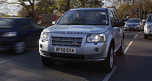 Land Rover 2009 Freelander TD4-eFuel miser: The Land Rover Freelander TD4_e sips just 6.7L/100km.