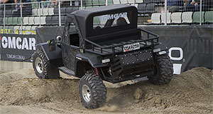 Tomcar  Full throttle: Tomcar is struggling to keep up with demand for its range of tough off-road vehicles, while all other automotive brands prepare for the end.