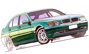 2002 BMW 7 Series 735i sedan Car Review