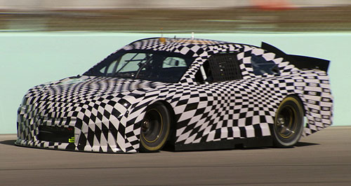 Holden  Racing to America: The Chevrolet SS will debut at the Daytona 500 in February 2013.