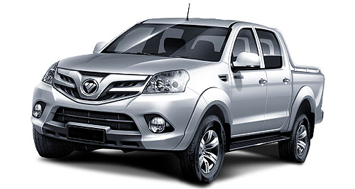 Foton P201 Chinese player: Foton's load-lugger (codenamed P201) will take it up to the big boys from Japan, and is claimed to be a class above the likes of Great Wall Motors' V240 in both size and engineering.