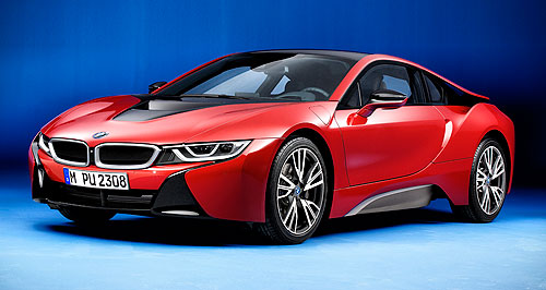 BMW i8 Protonic Red EditionHot property: Only five examples of the BMW i8 Protonic Red will be coming to Australia.