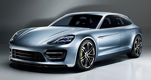 Porsche 2016 Panamera Sport TurismoEye to the future: The Sport Turismo concept previews a Porsche Panamera wagon variant tipped to enter production when the second-generation range launches around 2016.