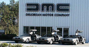 DeLorean 2017 DMC-12 Flux capacity: The DeLorean Motor Company has a stockpile of thousands of OEM parts with which it will build around 300 modernised DMC-12 sportscars.