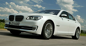 BMW 7 Series Hot wired: BMW's ActiveHybrid 7 can sprint from zero to 100km/h in 5.7 seconds.
