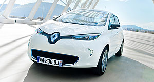 Renault 2014 Zoe What's in a name: Although a play on the acronym for zero emissions, Renault says the Zoe moniker is derived from the Greek for life.