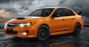 Subaru WRX InSpector Rex: The special edition Club Spec WRX sedan will be sold in limited numbers from August.