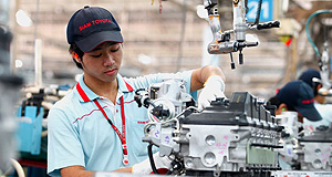Toyota  Beneficiary: Siam Toyota Manufacturing in Thailand is rumoured to be the prime beneficiary as equipment from Australia's Altona factory is dismantled and shipped to overseas plants.