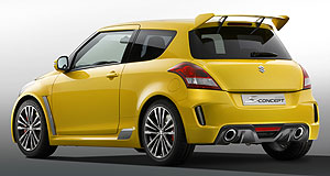 Suzuki 2012 Swift SportSwifter Swift: Lighter three-door body, a 100kW 1.6 and a six-speed manual should please fans of the long lamented Swift Sport.