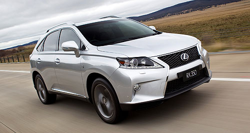 Lexus 2013 Compact SUV Down sizer: The Lexus RX SUV might finally get a small brother to take on the big-selling luxury compact SUV market.